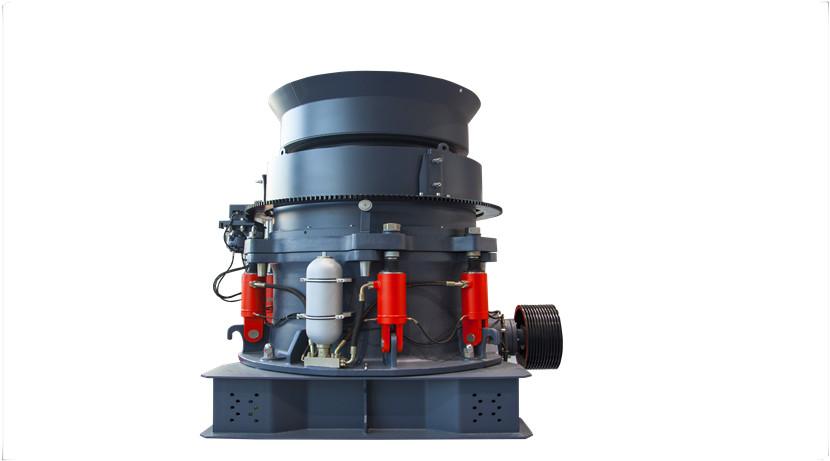 HPT多缸液压圆锥破的结构和工作原理