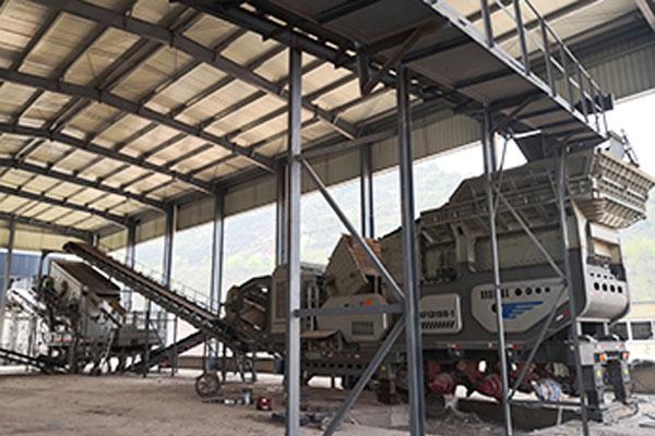 建筑垃圾移动破碎生产线|移动式破碎站|建筑垃圾处理生产线方案