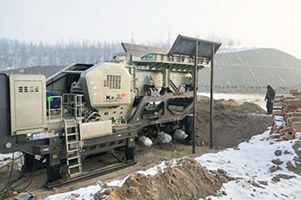 河卵石移动破碎生产线|移动式破碎站|破碎河卵石的设备有哪些
